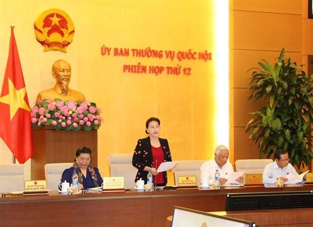 Comite permanent de l'AN : avis sur les preparatifs pour la 4eme session de sa 14eme legislature hinh anh 1
