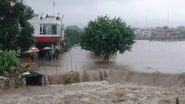 Crues : des aides accordees dans les regions montagneuses du Nord hinh anh 1