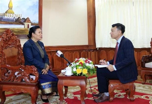 Les relations Vietnam-Laos ne cessent de se developper hinh anh 1