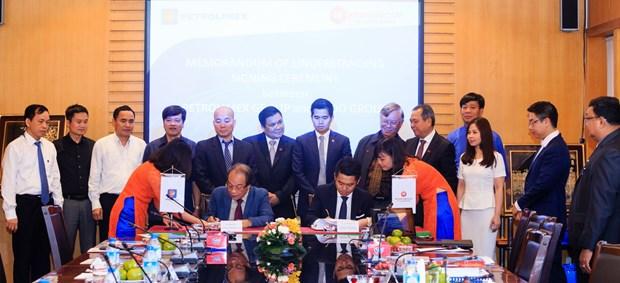 Petrolimex etudie des possibilites de cooperation avec un groupe birman hinh anh 1