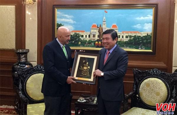Ho Chi Minh-Ville intensifie la cooperation avec le Mexique hinh anh 1