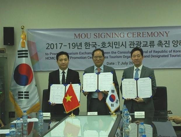 Ho Chi Minh-Ville et la R. de Coree promeuvent leur cooperation dans le tourisme hinh anh 1