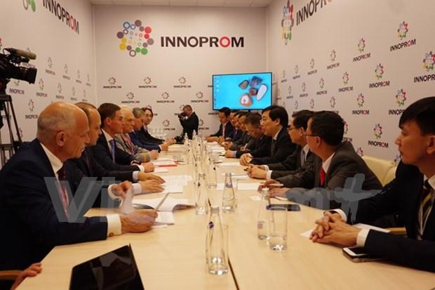 Vietnam-Russie : renforcement de la cooperation decentralisee hinh anh 1