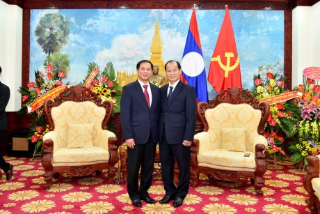Celebration de l'Annee de solidarite et d'amitie Vietnam-Laos, Laos-Vietnam 2017 hinh anh 1