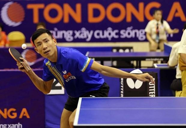 """Ouverture du tournoi international de ping-pong """"Raquette d'or"""" a Ho Chi Minh-Ville hinh anh 1"""