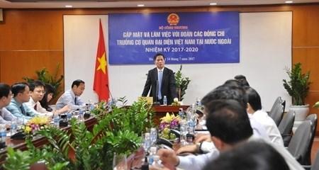 Les ambassadeurs contribuent a promouvoir la cooperation entre le Vietnam et le monde entier hinh anh 1