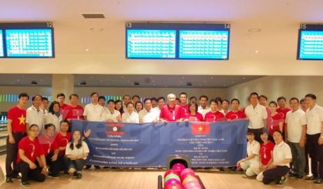 Echange d'amitie entre les ambassades vietnamienne et laotienne en R. de Coree hinh anh 1