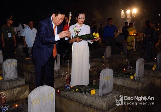 Un programme de reconnaissance des morts pour la Patrie a Nghe An hinh anh 1