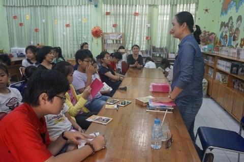 Un club de lecture pour les enfants hinh anh 1