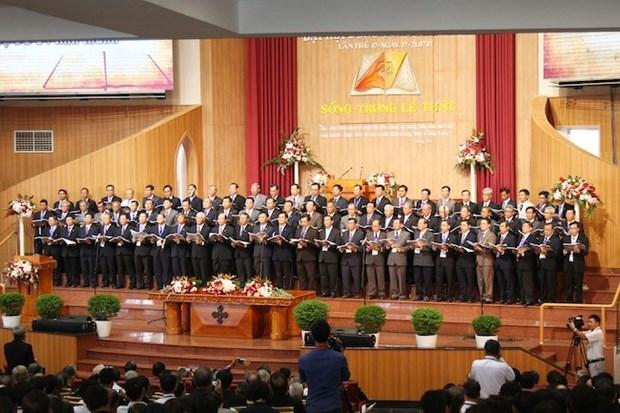 La 5e Assemblee generale de l'Eglise protestante du Vietnam (Sud) hinh anh 1