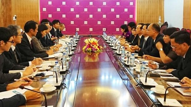Vietnam - Japon: renforcement de la cooperation dans le drainage et le traitement des eaux usees hinh anh 1