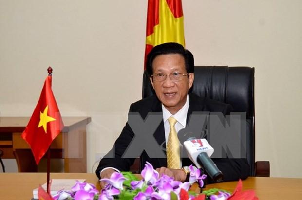 La visite du leader du PCV au Cambodge portera les liens bilateraux a une nouvelle hauteur hinh anh 1