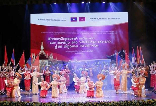 Ouverture des journees de la culture et du tourisme du Vietnam au Laos hinh anh 1