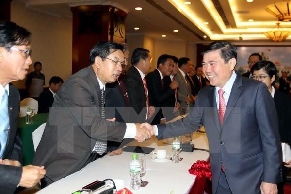 Ho Chi Minh-Ville approfondit ses relations avec des provinces laotiennes hinh anh 1