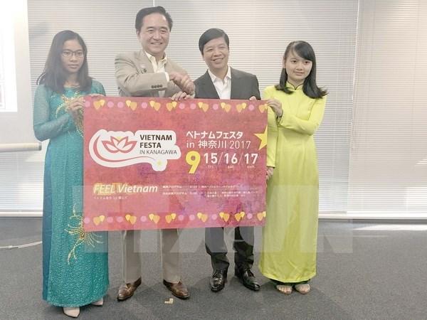 La fete du Vietnam a Kanagawa 2017 compte attirer 400.000 visiteurs hinh anh 1