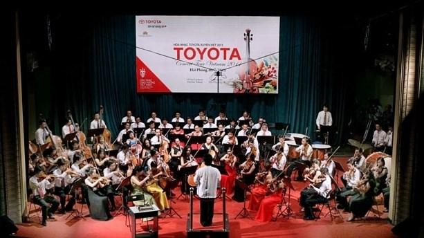 Le Concert de Toyota a Vinh Phuc hinh anh 1