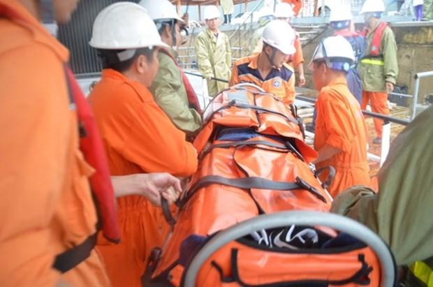 Un marin chinois secouru au large de la ville de Vung Tau hinh anh 1