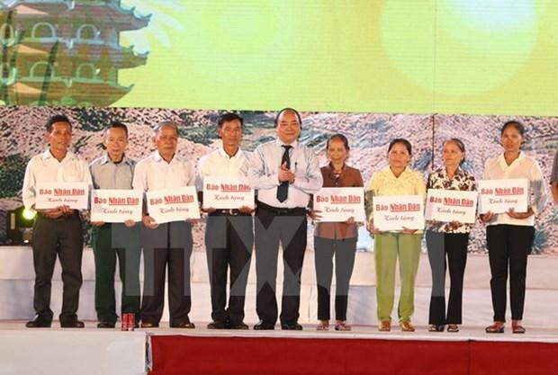 Ha Tinh celebre l'anniversaire de la victoire de Dong Loc hinh anh 2