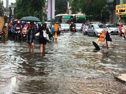 Inondations : Hanoi se prepare pour la saison des pluies hinh anh 1