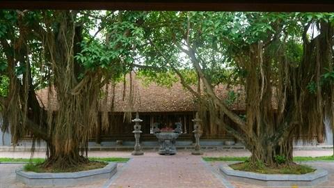 La tete et le cœur du village traditionnel hinh anh 2