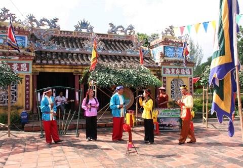 La tete et le cœur du village traditionnel hinh anh 1
