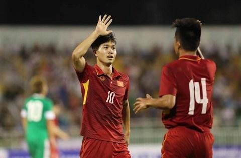 AFC U-23 Championship: Le Vietnam provisoirement en tete de la poule 1 hinh anh 1