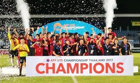 Le Vietnam remporte la Coupe de l'AFF U15 hinh anh 1