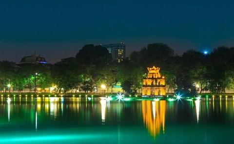 Pres de 12 millions de touristes a Hanoi au 1er semestre hinh anh 1