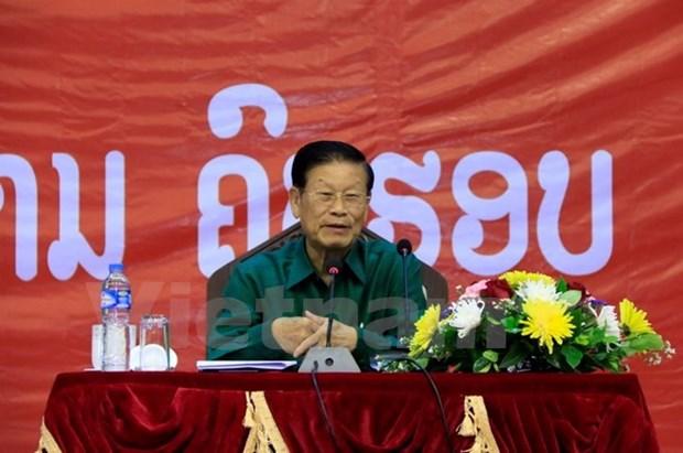 Causerie sur les relations speciales Vietnam-Laos a Vientiane hinh anh 1