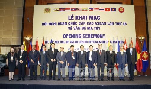Drogue : ouverture de la 38e Conference des hauts officiels de l'ASEAN hinh anh 1