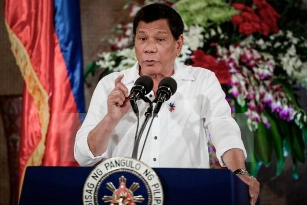 Le president philippin s'engage a poursuivre la lutte contre la drogue hinh anh 1