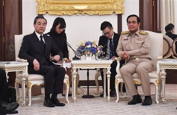 La Thailande et la Chine s'engagent a renforcer leurs liens hinh anh 1