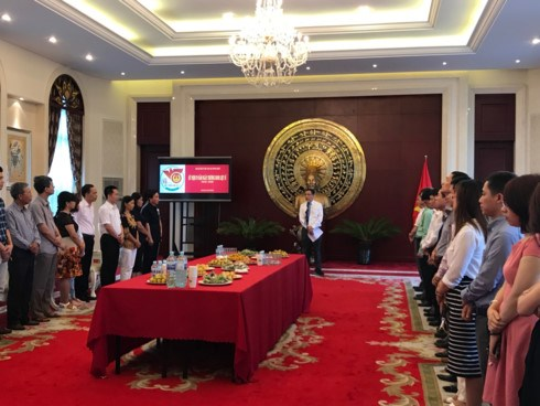 La Journee des invalides de guerre et des morts pour la Patrie celebree en Chine et au Cambodge hinh anh 1