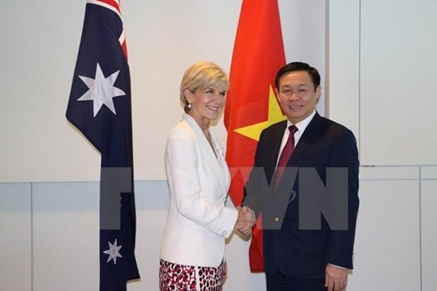 L'Australie affirme accorder la priorite aux relations avec le Vietnam hinh anh 1