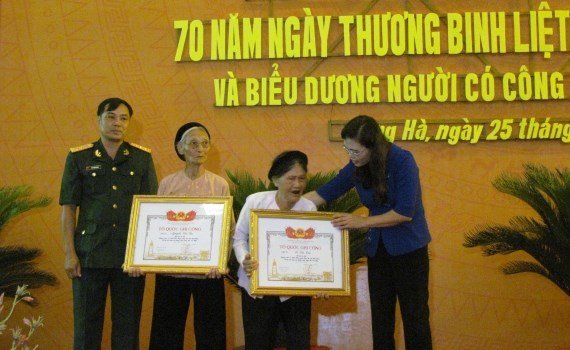 Activites en l'honneur des personnes meritantes hinh anh 1
