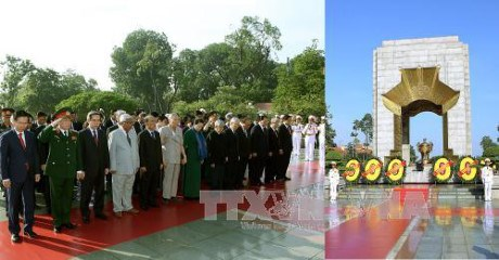 27 juillet : les dirigeants du Parti et de l'Etat rendent hommage aux morts pour la Patrie hinh anh 1