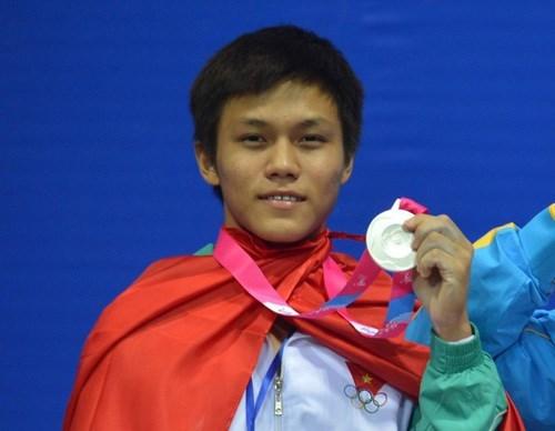 Le Vietnam gagne quatre medailles d'or aux Championnats d'halterophilie juniors d'Asie hinh anh 1