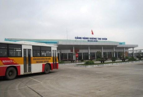 Inauguration de la ligne aerienne internationale Thanh Hoa-Bangkok hinh anh 1