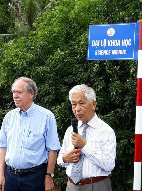 La province de Binh Dinh a desormais sa «Science avenue» hinh anh 1