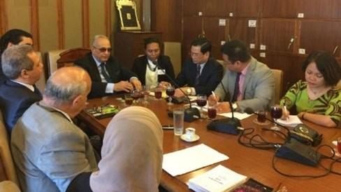 Vietnam et Egypte partagent des experiences dans la legislation hinh anh 1