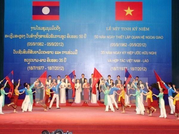 Cooperation entre les jeunes de Quang Nam et de Sekong (Laos) hinh anh 1