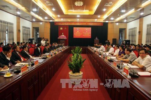 Renforcement de la cooperation entre Son La et les localites septentrionales du Laos hinh anh 1
