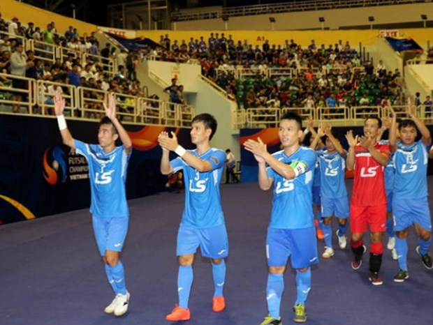 Championnat des clubs de futsal d'Asie 2017 : Thai Son Nam finit 3e hinh anh 1