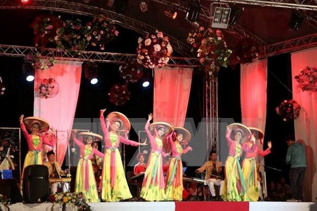 Le Vietnam se produit au Festival du folklore mondial en Roumanie hinh anh 1