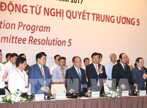 Forum de l'economie privee: efforts communs pour le developpement des entreprises hinh anh 1