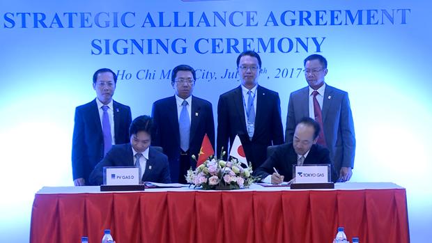 PV Gas D et Tokyo Gas Asia cooperent dans le secteur gazier hinh anh 1