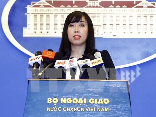 Le Vietnam proteste contre les violations chinoises de sa souverainete sur Hoang Sa hinh anh 1