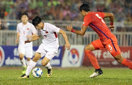 Cong Phuong, pilier de la selection nationale U22 hinh anh 1