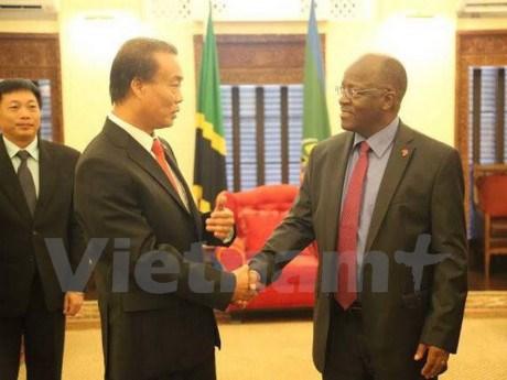La Tanzanie favorisera les investissements vietnamiens hinh anh 1