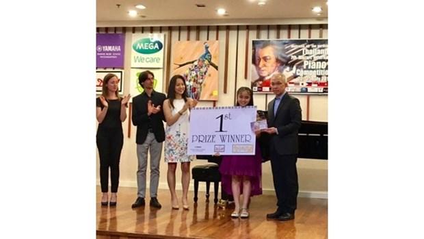 Le Vietnam obtient le premier prix au concours international de piano hinh anh 1
